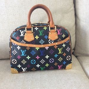 Louis Vuitton Multicolor Trouville Black